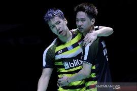 Berkut jadwal semifinal China Open, Minions adu kekuatan dengan Fajar/Rian