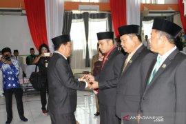Pimpinan DPRD Kotabaru definitif dilantik