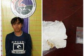Polisi Langkat tangkap pengedar narkotika warga Wampu di Tanjungpura