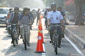 Tips bersepeda di Jakarta ala Anies Baswedan