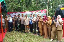 Kapolres HST apresiasi Kampung Bebas Karhutla bertambah