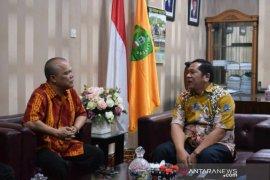 Wali kota Padangsidimpuan terima kunjungan Kabiro ANTARA Sumut