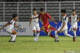 Indonesia posisi kedua Grup G Piala AFC U-16