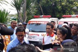 Sandiaga Uno:  Layanan kesehatan warga Jakarta masih mempihatinkan