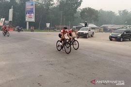 Tour de Siak, etape III dibatalkan akibat asap tebal