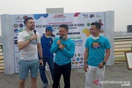 Pontianak gelar World Clean Up Day di Sungai Kapuas