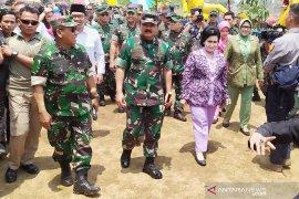 Panglima TNI : Proses pembersihan Sungai Citarum sudah 40 persen