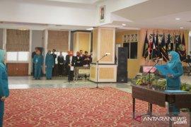Rosmanidar Hasibuan dilantik sebagai Ketua Dekranasda dan TP-PKK Labuhanbatu