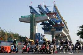 Progres pembangunan Tol Layang Pettaani