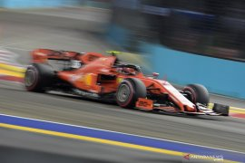 Leclerc raih 'pole position' di GP Singapura