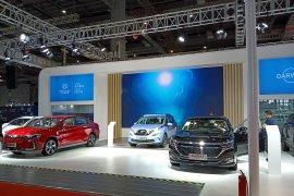 Begini mobil listrik di CIIF Shanghai