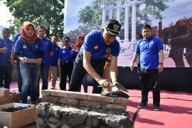 Bupati Sleman meresmikan pembangunan Monumen Keselamatan