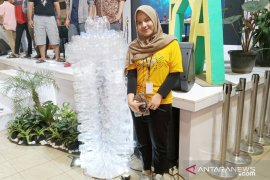 FOA 2019, mahasiswa IPB berhasil kumpulkan 10.000 sampah botol plastik di Bogor