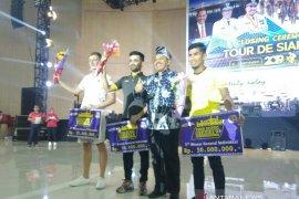 Tour de Siak, pebalap Malaysia juara umum