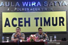 Kapolres Aceh Timur sebut perampokan Bank BRI Lhoknibong peristiwa lama