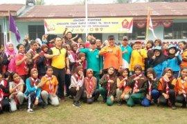 Wabup Simalungun senam bersama pelajar SMP dan SMA