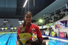 Perenang Kania Ratih pecahkan rekornas 50m gaya bebas putri