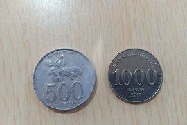 Uang logam Rp500 dan Rp1.000 masih layak edar
