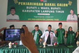 DPC PKB Lampung Timur buka pendaftaran bupati wakil bupati Pilkada 2020 Page 1 Small