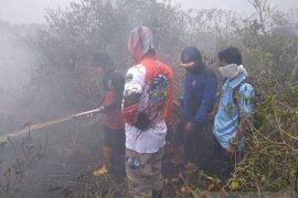 Polisi selidiki penyebab kebakaran lahan gambut di Mukomuko
