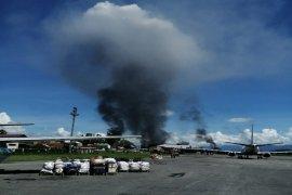 Hari ini, aksi demo di Wamena berlangsung anarkis