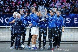 Tim Eropa juara Laver Cup