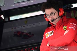 Kepala tim Ferrari pasang badan soal strategi di GP Singapura
