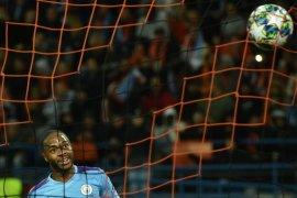 Real Madrid bidik penyerang Manchester City Raheem Sterling