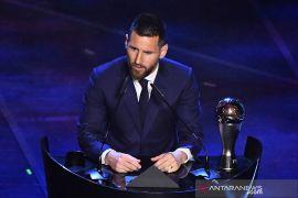 Messi cetak rekor usai jadi pemain terbaik dunia 2019