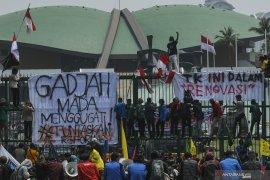 Demo mahasiswa, Jasa Marga tutup tol cawang-Tomang