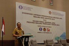 Gubernur Murad : Perekonomian Maluku triwulan II-2019 tumbuh positif