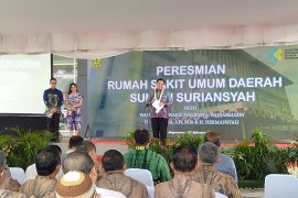 Sultan Suriansyah Hospital inagurated with river access