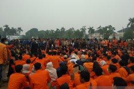 Di hadapan mahasiswa, Pimpinan DPRD nyatakan tolak RUU KPK dan KHUP