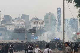 Demo pelajar STM, Polda Metro Jaya lakukan rakayasa lalu lintas di sekitar DPR RI