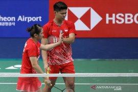 Bulutangkis Denmark Open, Praveen/Melati ke perempat final setelah hentikan Lu/Chen,