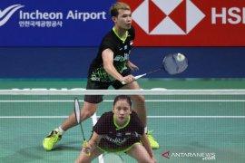 10 wakil Indonesia berlaga babak kedua di turnamen bulu tangkis Korea Open
