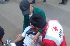 PMI kerahkan puluhan personel dan ambulans di lokasi unjuk rasa di DKI Jakarta