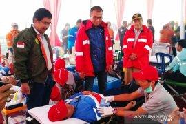 Supreme Energy gelar donor darah di lokasi proyek