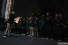 """Kawasan GBK jadi lokasi evakuasi mahasiswa """"Reformasi Dikorupsi"""" yang terluka"""