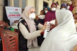 ACT bagikan 2 ribu masker di Riau antisipasi serangan ISPA