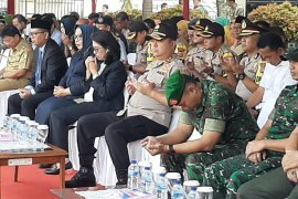 Kapolda Banten Hadiri Upacara HUT Agraria Nasional dan Tata Ruang ke 59