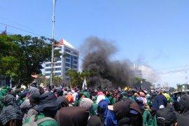 1.900 personel diturunkan amankan aksi  mahasiswa