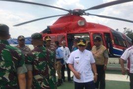 Gubernur Kaltim -Pangdam-Kapolda pantau Karhutla