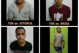 Pelaku pencurian uang Rp1,6 miliar milik Pemprovsu ditangkap di Riau