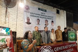 Komunitas Generasi Optimis Indonesia usulkan menteri milenial ke Presiden Jokowi