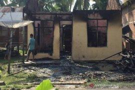 Sebuah rumah di Lhokseumawe terbakar, ibu dan anak terluka parah