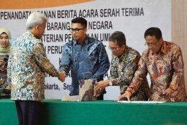 Kementerian PUPR hibah BMN Rp17 miliar pada  Pemkab Pandeglang