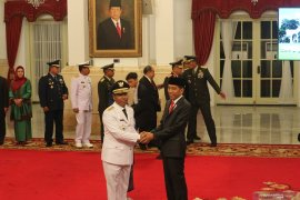 Presiden Jokowi lantik Dedy Ermansyah sebagai Wakil Gubernur Bengkulu