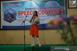 91 peserta ikuti kontes bahasa Universitas Bangka Belitung
