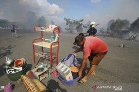 Kebakaran Lahan Di Permukiman Penduduk